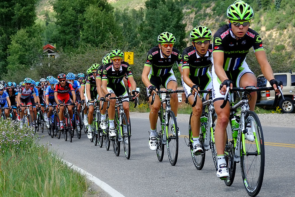 USA Pro Cycling Challenge in Aspen photographed by Mike Lyons